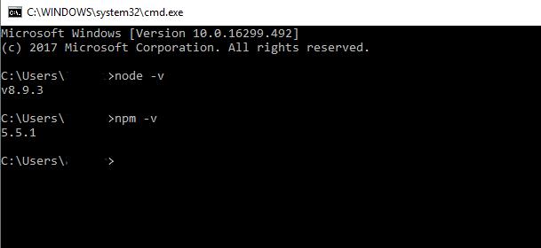 node and npm installation
