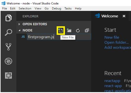first node program