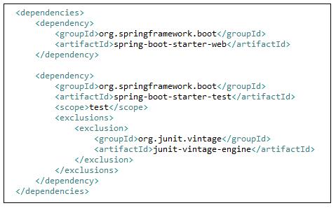 pom.xml for Spring boot MVC
